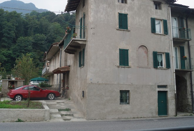 Piazzalunga 24. Front of the house - August 2014