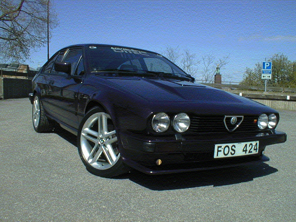 Marcello's first Alfa Romeo GTV