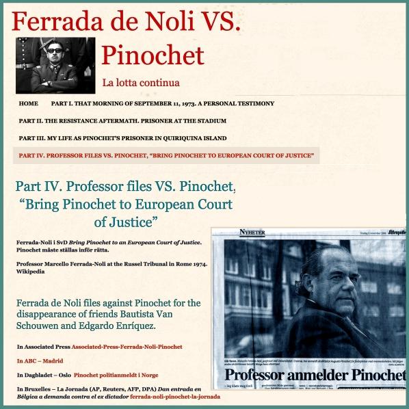 Ferrada de Noli vs Pinochet